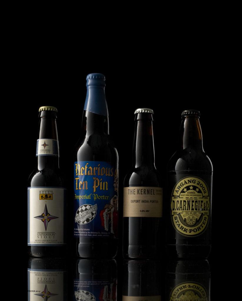 De högst rankade ölen i världen tillhör oftast ölstilsfamiljen stout och porter.