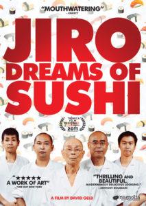 Den nu klassiska dokumentären om sushikocken Jiro Ono och hans trestjärniga restaurang Sukiyabashi Jiro som ligger i en av Tokyos tunnelbanestationer.